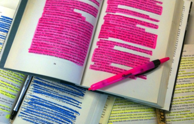 Reading and Highlighting